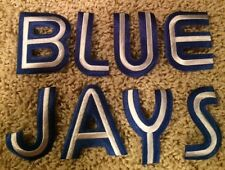 Toronto Blue Jays MLB BLUE Stitched Letters Baseball Crest Patch 1.8 by 2.5