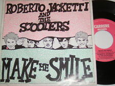 """7"""" - Roberto Jacketti & The Scooters Make me smile & Little Boy - 1985 # 4824"""