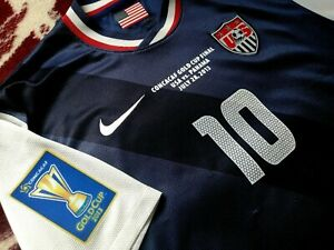 Jersey US Landon Donovan nike USA 2013 (L) gold cup champions soccer USMNT