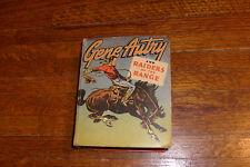 vintage BIG LITTLE BOOK: GENE AUTRY & RAIDERS OF THE RANGE, good/verygood