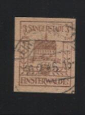 Lokal Finsterwalde 1 a w I gestempelt BPP-geprüft sehr selten (B06914)