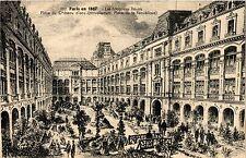 CPA PARIS 10e - Les Magasins Reunis Place du Chateau d'eau (254262)