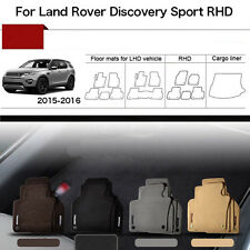 """5pcs 1/2""""Thick Solid Nylon Interior Floor Carpet Mats For RHD Discovery Sport"""