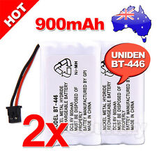 2x 900MAH 3.6V REPLACEMENT For UNIDEN BT-446 CORDLESS PHONE BATTERY BT909