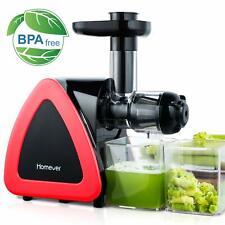 Slow Juicer Cold Press Juice Maker Masticating Fruit Vegetables Press
