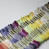 DMC Stranded Cotton Cross Stitch Thread Skein Mouline Colours 01 to 35 8m