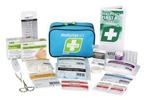 FASTAID Motorist Personal First Aid Kit Soft Blue Bag Brand New work site