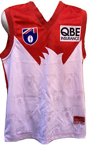 Vintage Sydney Swans Puma 1999 Guernsey Jumper Jersey New With Tags