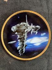 More details for starwars medical frigate hamilton certified ltd ed plate by sonia hillios 0568b