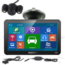 "XGODY 7"" Car GPS Navigation Sat Nav+Wireless Rearview Camera AV-IN FM 8GB FM"