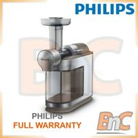 Centrifugal Juicer Fruits Citrus Squezzer Low Speed Philips HR1933/20 Avance