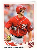 2013 Topps Series 1 Bryce Harper All Star Rookie Gold Cup #1 Nationals