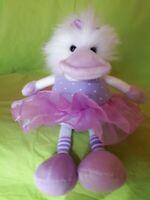 Stofftier Kuscheltier Schlenkertier NICI Ballerina Ente mit Tütü 30 cm