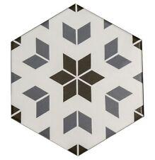 To Clear !!! Hexagon Mix Design Porcelain Wall & Floor Tiles 20 X 23 cm / Sqm