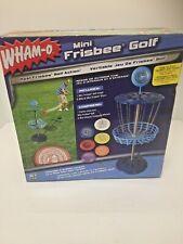 Wham-O Mini Frisbee Golf Set #51091 - 6 Discs, 1 Target New in Original Box
