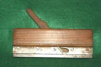 """Clean 19th C. J. Denison 5/8"""" Groove Woodworking Molding Plane Ca Inv#PS24"""