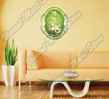 "Capricorn Zodiac Horoscope Astrology Wall Sticker Room Interior Decor 20""X25"""