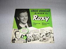 CRAIG DOUGLAS EP SINGS FOR ROXY