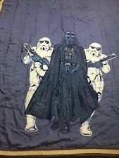 """Pottery Barn Kids Star Wars """"Darth Vader Storm Troopers� Twin Quilt"""