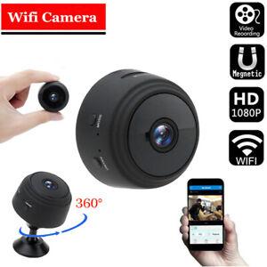 1080P Wireless WiFi Mini IP Camera CCTV Night Vision Security Cam Indoor Outdoor