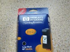 Hewlett Packard HP 51645A Large Black Inkjet Print Cartridge Sealed Expired 2001