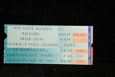 1987 Bryan Adams Sept 1 Ticket Stub Knoxville Civic Auditorium Tn Free Us Ship