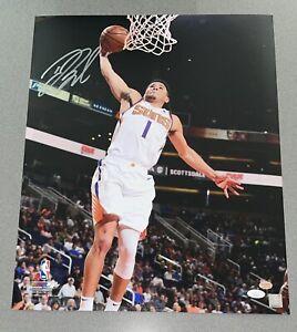 Devin Booker Phoenix Suns Autograph 16x20 Signed NBA Auto Photo JSA & BOOKER COA