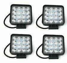 4X 48W LED LUCE FARO LAMPADA DA LAVORO FARETTO AUTO BARCA CAMION KLW SUV 12V