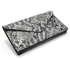NEW $179 Boston Proper Python Envelope Clutch Bag Handbag Leather Cocktail Purse