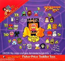 2000 McDonalds Monster Crazy Bones MIP Complete Set, Boys & Girls, 3+