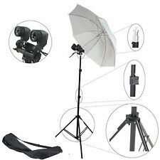 Kit D'éclairage Studio Photo DynaSun Mm2kit Douille Double Parapluie Trépied Sac