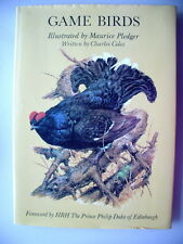 Game Birds Illustrated Maurice Pledger 1983 Vögel Ornithologie