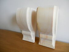 Hecho a mano de madera Corbel soportes estilo 1