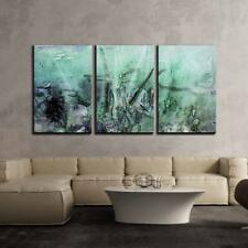"Wall26 - Abstract Grunge Artwork - Canvas Art Wall Decor - 16""x24""x3 Panels"