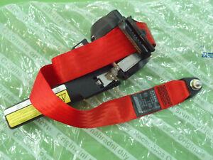 Brand New Genuine Fiat Cinquecento Sporting (red) safety belt (tensioner)!