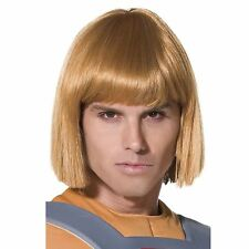 New He Man Wig Officially Licensed Blonde Universe Fancy Dress Costume Accessory