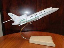 Vintage desk model plane jet France Dassault Falcon 900 Art Deco Modernist décor
