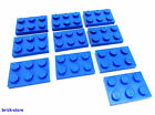 LEGO NR- 302123/2x3 Piastra Blu / 10-pc