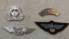 Kuwait Air Force Hat Badge Flight Wings Para Patch Shoulder Set Desert Storm