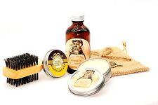 GUNN METAL Original 4oz Beard Oil Kit  in 'BARBER SHOP' Scent - FREE SHIPPING