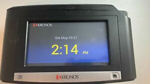 Kronos InTouch 9100 8609100-002 Mag Reader Factory Reset Time Clock Touchscreen