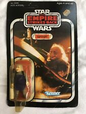 1980's Kenner Star Wars Esb Ugnaught Figure Moc 41 Back Unpunched 39319 /39300