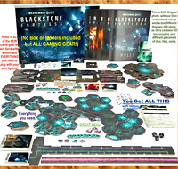 BLACKSTONE FORTRESS~ALL RULES+CARDS+TOKENS+DICE~(no models or box)~WARHAMMER 40K