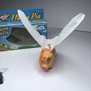 Pro-Motion Flying When Pigs Fly Novelty White Elephant Funny Gift (B)