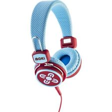 Moki Kids Safe Volume Limited Headphones - Blue & Red