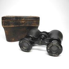 Vintage Flammarion L. Fischer Optidien Binoculars w Case Opera Glasses
