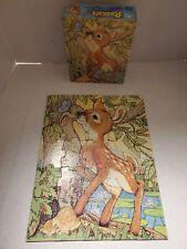 Vintage 1982 Rascals Jigsaw Puzzle 25 pieces Deer 4616E-32
