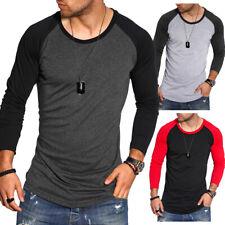 Behype Herren T-Shirt Oversize Longsleeve Pullover Sweatshirt Langarm-Shirt NEU