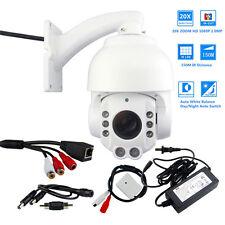 20X Zoom HD 1080P 2.0MP Outdoor PTZ IP Speed Dome Camera SONY CMOS 150M IR Audio