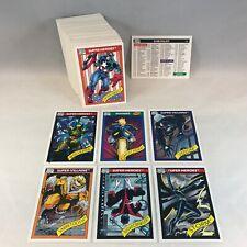 MARVEL UNIVERSE SERIES 1 (Impel 1990) COMPLETE VINTAGE 162 BASE TRADING CARD SET